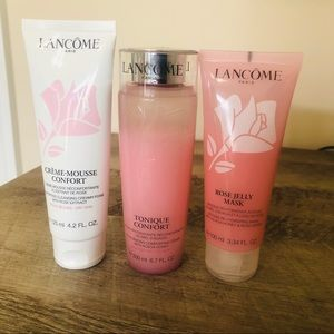 Lancome Rose & Honey Skincare Set For Dry Skin